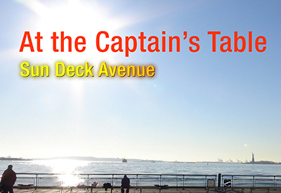 At the Captains Table - Audio
